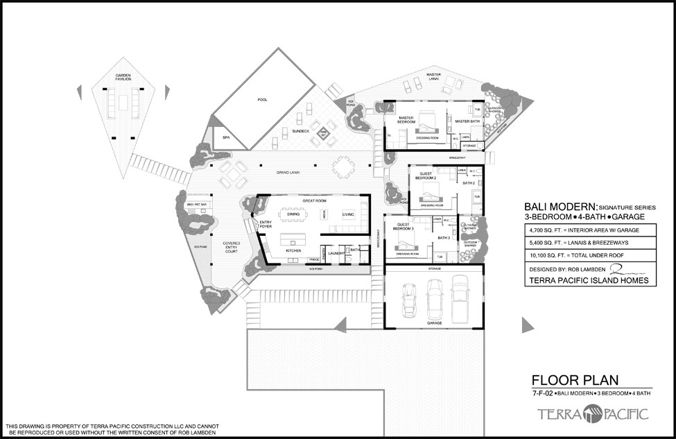 Bali Floor Plans House Layouts