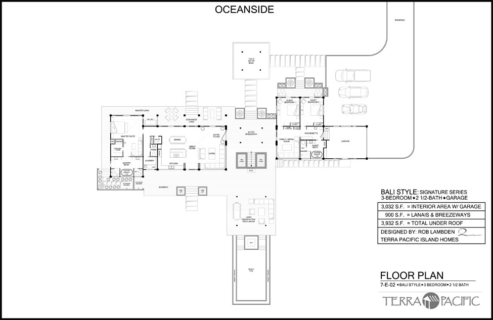Tropical bali style house plans house plans Bali house designs floor plans